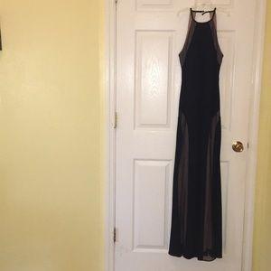 Prom/Formal Dark Navy Dress.